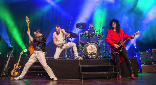 A night of queen